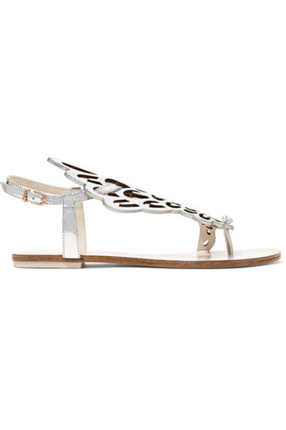 Sophia Webster metallic sandals leather sandals leather shoes