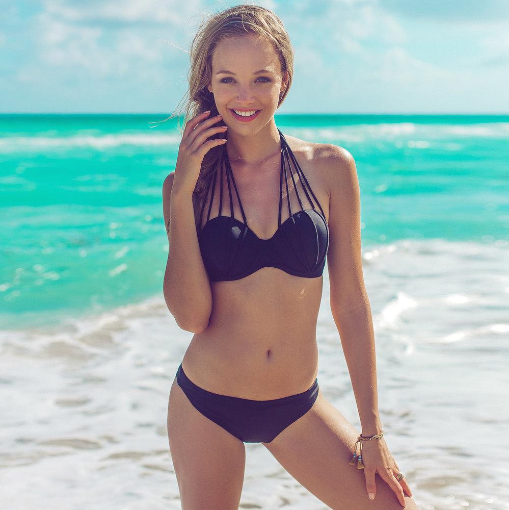 Caliente bikini in black