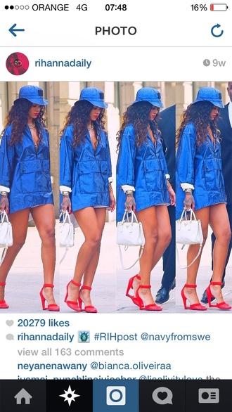 rihanna shoes red heels rihanna