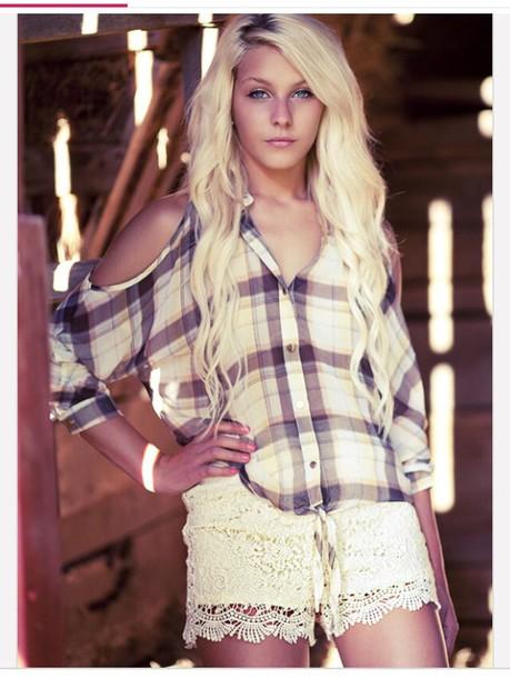 shirt plaid shirt