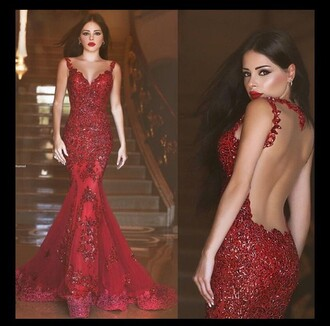 dress red dress red prom dress sparkle sparkly dress pretty prom dress prom gown prom niceoo please help me find this dresss sos gown embellished dress
