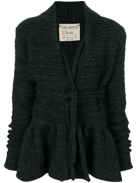 Daniel Andresen jacket women black knit