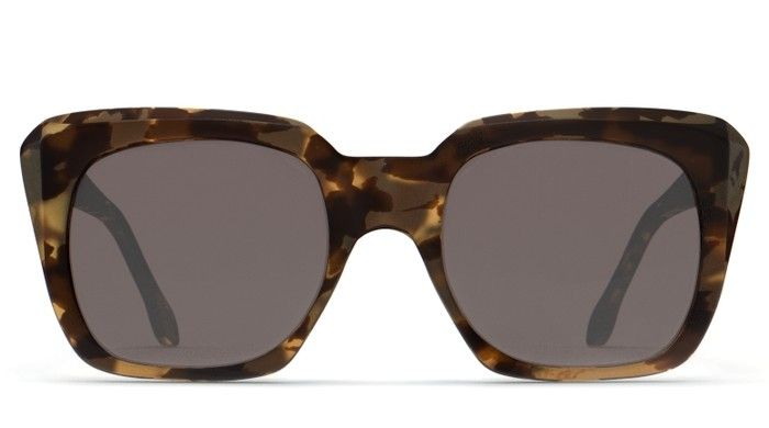 Olive Tortoise / Silver Mirror ROOSEVELT by Elizabeth and James | DITTO