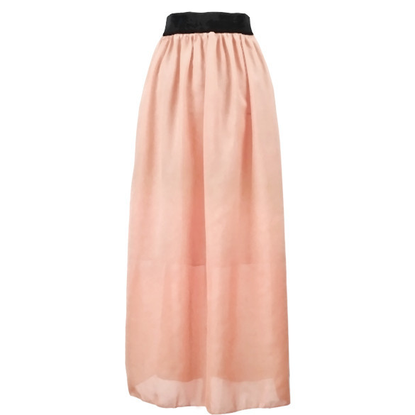 Chiffia Maxi Skirt | Outfit Made