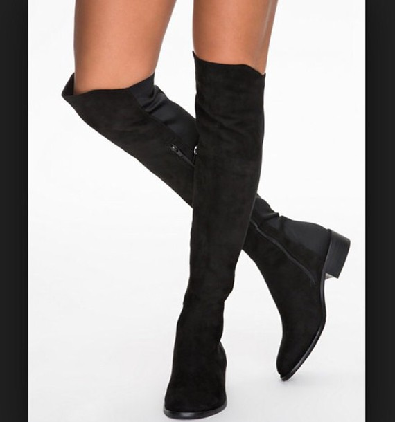 shoes overknee boots