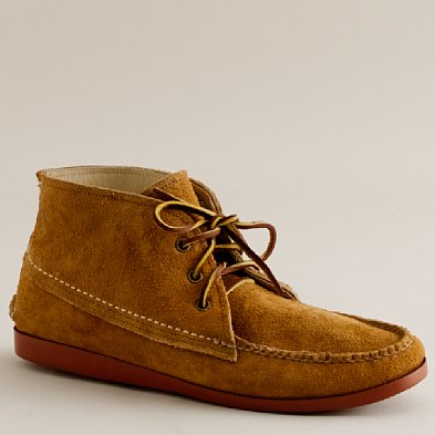 shoes - casual boots & chukkas - Men's Quoddy® suede chukka boots ...