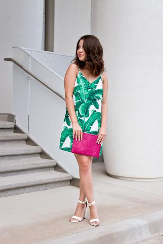 champagne&citylights blogger dress jewels bag shoes clutch summer dress summer outfits sandals high heel sandals