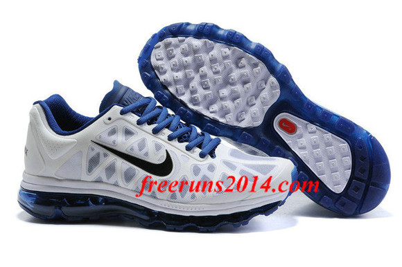 shoes sneakers white nike air max 2011 men] balck deep royal