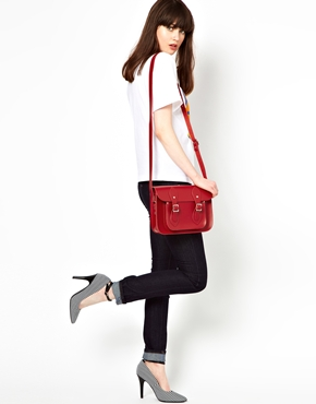 Cambridge Satchel Company   Cambridge Satchel Company Red Leather 11