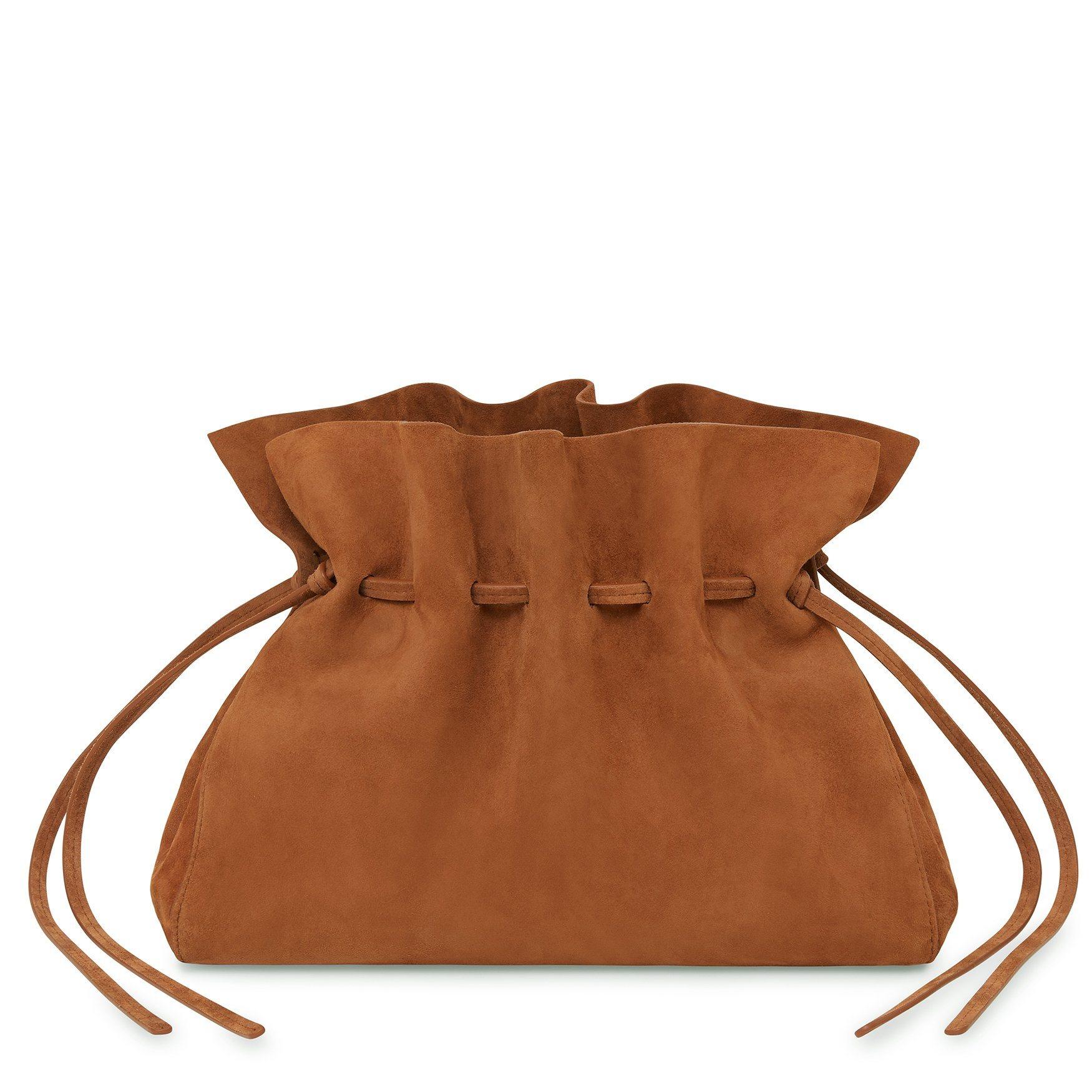 Suede Protea Bag - Rust