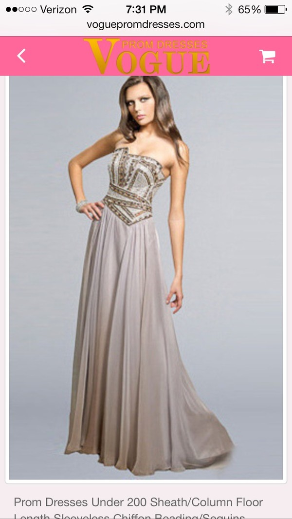 dress prom dress