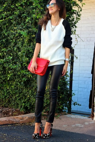 frankie hearts fashion sweater pants shoes bag sunglasses jewels