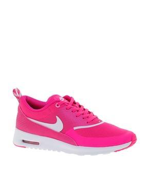 Nike air max thea pink trainers at asos