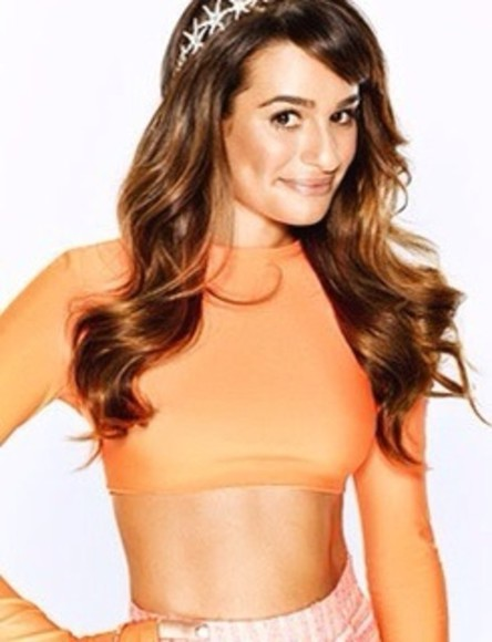 lea michele t-shirt jewels
