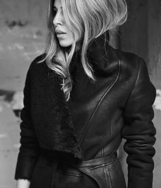jacket coat belt black germany beautiful gorgeous