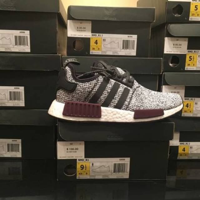 Cheap Adidas NMD R2 Two Toned White Red