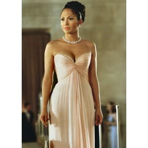 Jennifer lopez pink evening dress in movie 'maid in manhattan'
