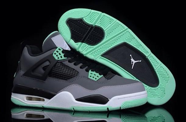 shoes jordans mint grey black shoes mint green shoes black grey shoes