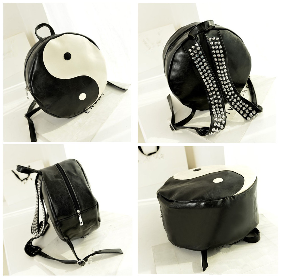 Yin Yang Spike Backpack from Wicced on Storenvy