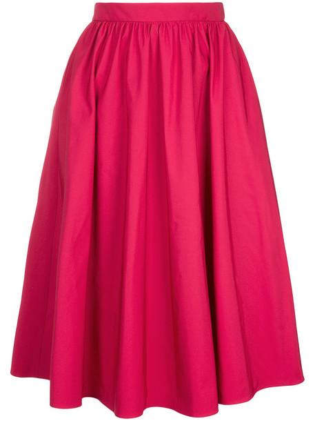 skirt circle skirt women purple pink