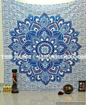 home accessory,blue tapestry,floral tapestry,tapestry,wall hanging,wall tapestry,indian tapestry,mandala tapestry,where to buy tapestry,tapestry online,tapestry on sale,cool college tapestry,dorm room tapestry,bohemian dorm decor ideas,hippie tapestry,trippy tapestry,medallion tapestry,yoga mat,table cloth,beach throw,beach blanket,picnic blanket,beach towel,dorm room bedding,queen bedding,blue mandala bedspread,boho tapestries,psychedelic tapestries,boho chic