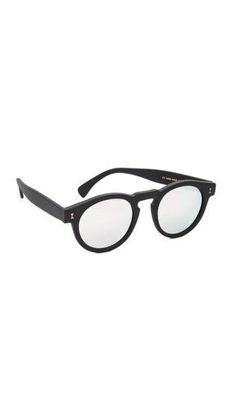 matte sunglasses mirrored sunglasses silver black matte black