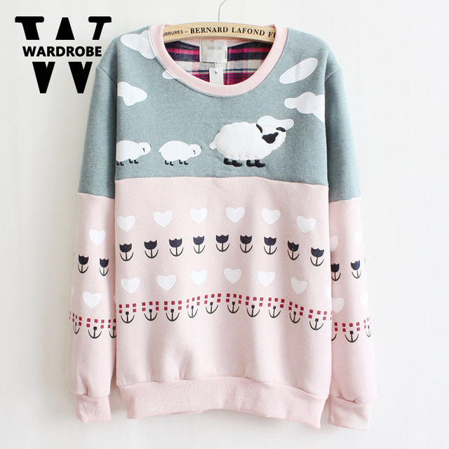 Online Shop Wardrobe Japan And South Korea Style Ladies Winter Cute