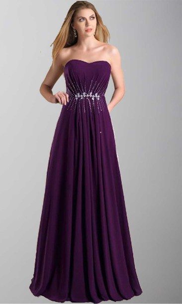 Eggplant Prom Dresses