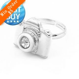 2014 New Fashion Hot Selling Hot Fashion Retro Personality Cute Camera Ring, Fashion Jewelry (White) 66R189-in Rings from Jewelry on Aliexpress.com | Alibaba Group