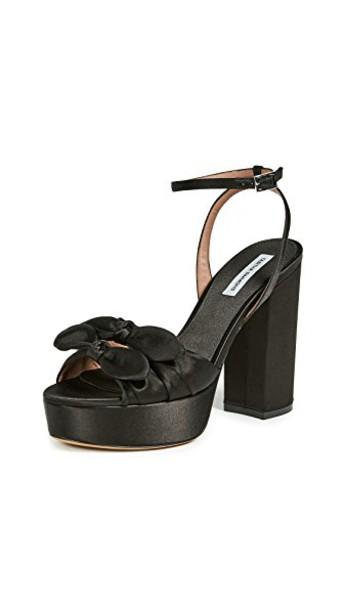 pumps platform pumps black shoes