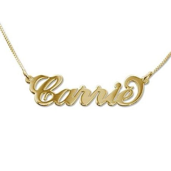 carrie jewels necklace