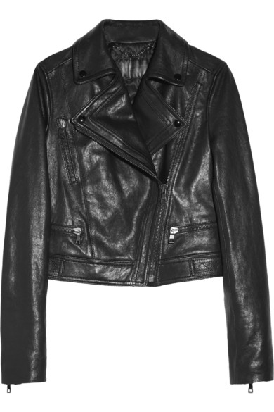 Proenza Schouler | Leather biker jacket | NET-A-PORTER.COM
