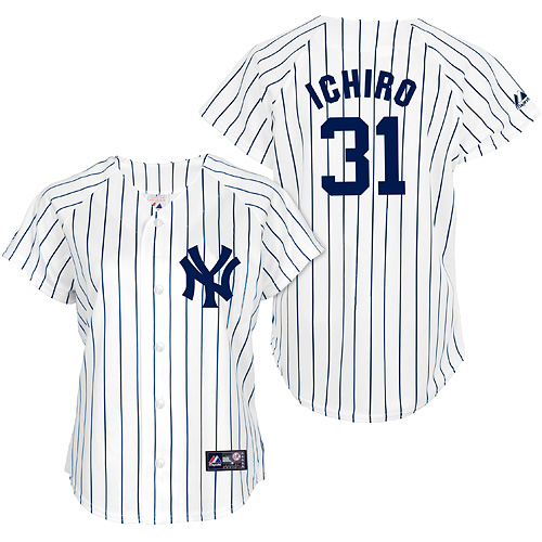 New York Yankees Ichiro Suzuki Women's Player Replica Jersey by Majestic Athletic - MLB.com Shop