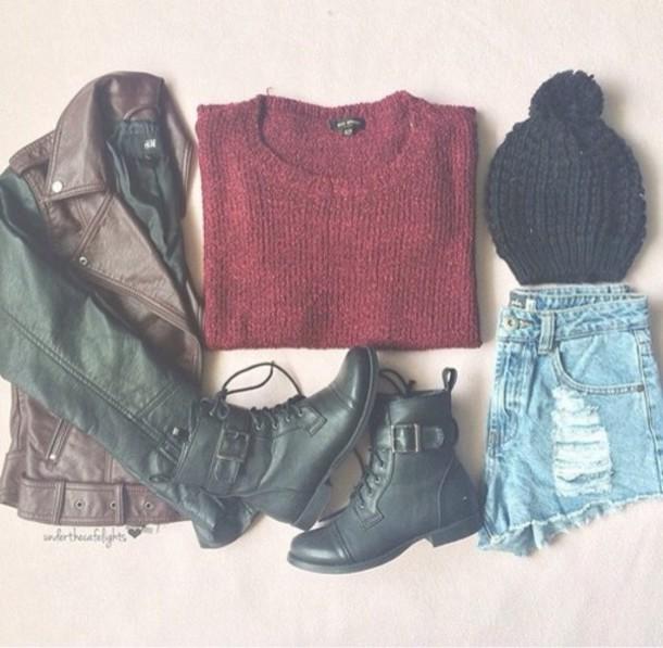 jacket boots