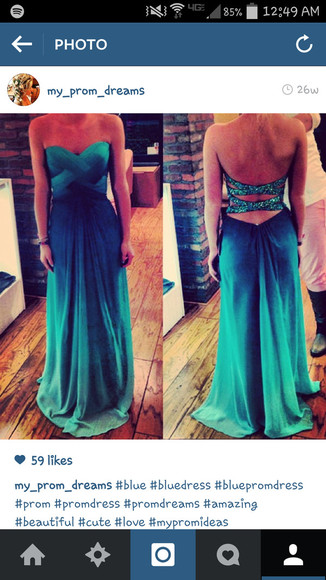 glitter dress prom dress prom green dress blue dress