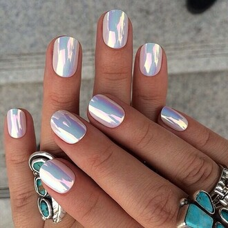 nails nail stickers holographic nail accessories
