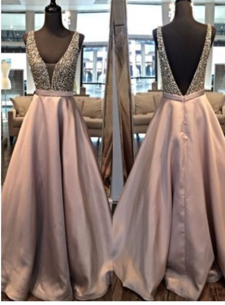 dress prom dress satin pearl maxi dress v neck plunge v neck champagne dress v neck dress plunge v neck dress satin maxi gown purple dress
