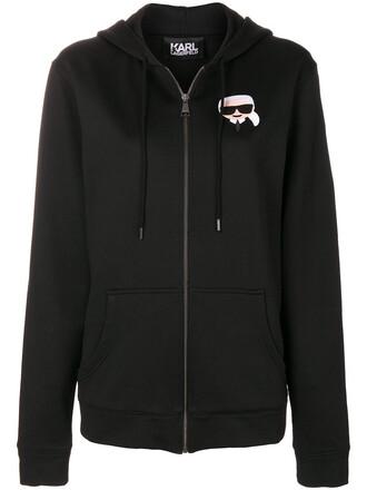 hoodie women black sweater
