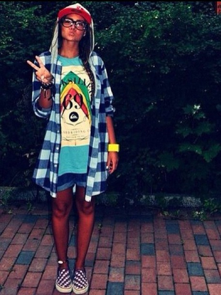 blouse flannel flannel shirt flannel  jacket flannel sweatshirt oversized sweater oversized oversized shirt swag square blouse style blue skirt pattern