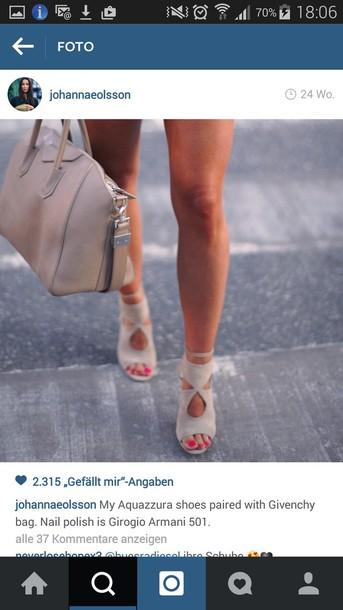 shoes beige high heels