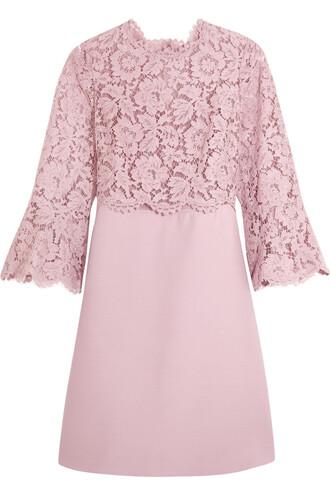 dress mini dress mini lace rose