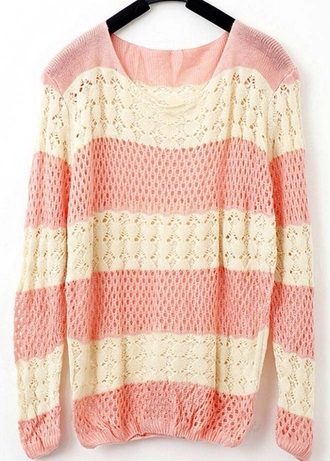 sweater pink coz pink sweater