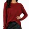 Very soft burgundy sweater