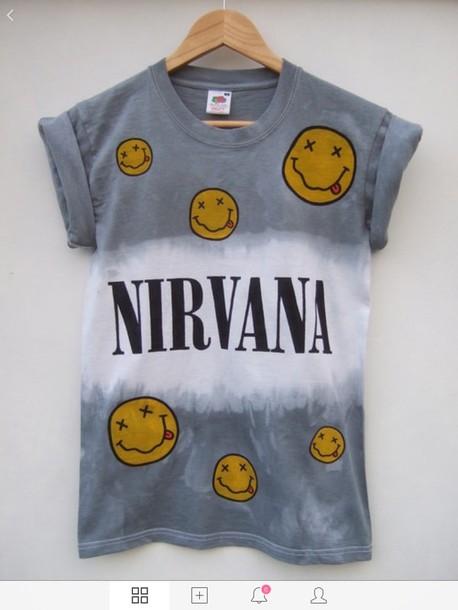 blouse nirvana t-shirt t-shirt