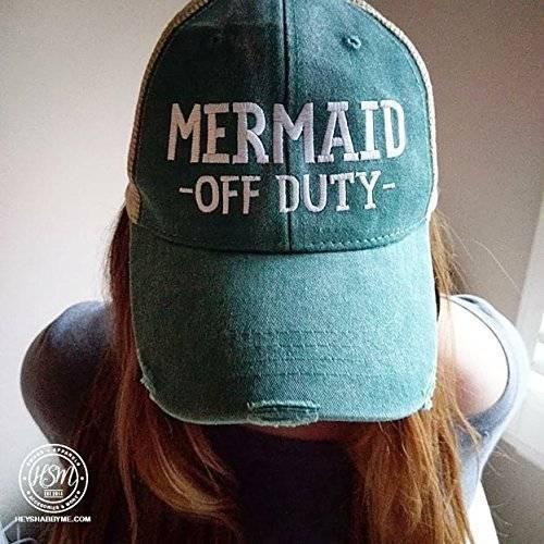 Amazon.com: Mermaid Off Duty Hat: Handmade