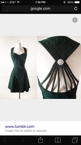 dress green dress emerald green short dress tumblr