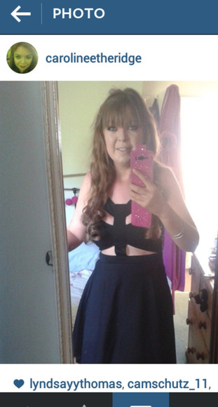 black dresses reverse dress asos tanned girl pink phone case false eyelashes american style party dress slimming size 10