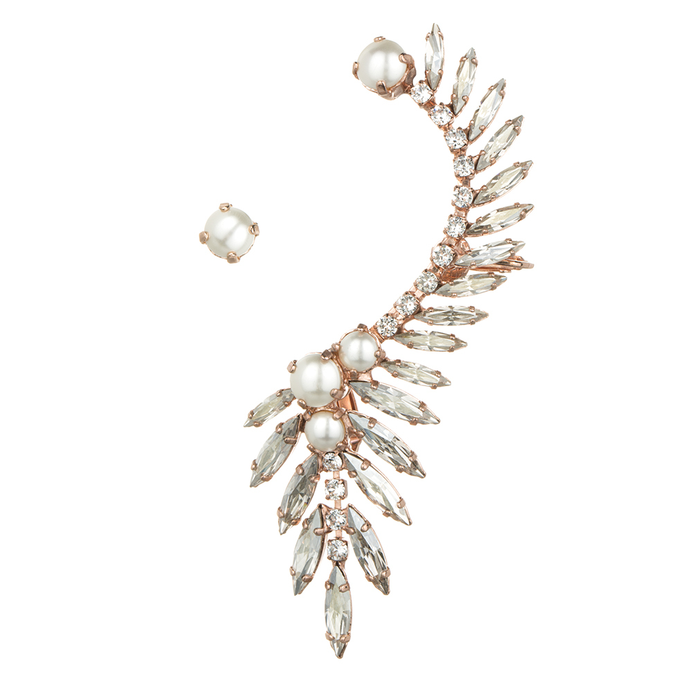 Rs.e.005 rose gold ear cuff  / ryan storer