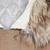 Khaki Fur Hooded Long Sleeve Drawstring Loose Outerwear - Sheinside.com
