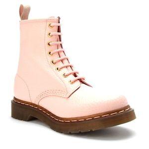 Dr Martens 1460 QQ Pearl Light Pink | eBay